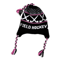 Field Hockey Fleece Hat with Braid-longstreth