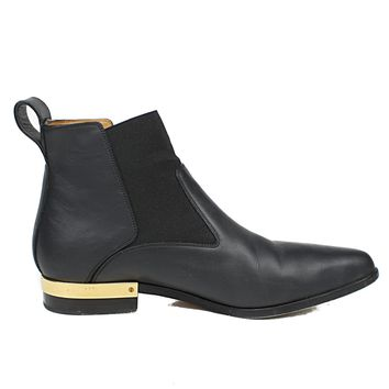 Chloe Leather Chelsea Ankle Boots