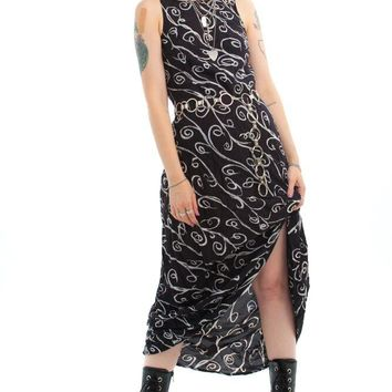 Vintage 90's Go With the Flow Maxi Dress - XS/S/M