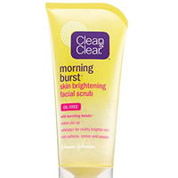 Clean & Clear Morning Burst Skin Brightening Facial Scrub, 5 Ounce