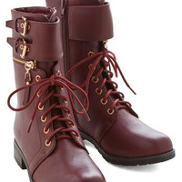 ModCloth Military Arcade Hire Boot