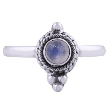 Shop Dixi Boho Ring | Sterling Silver Semi Precious Stone Ring