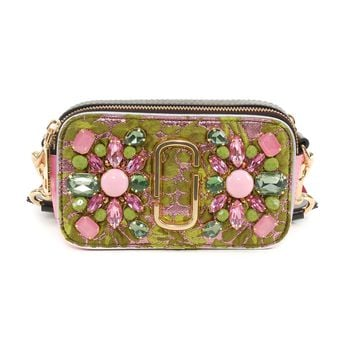 Marc Jacobs Embroidered Snapshot Bag