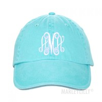 Monogrammed Baseball Hat | Marley Lilly