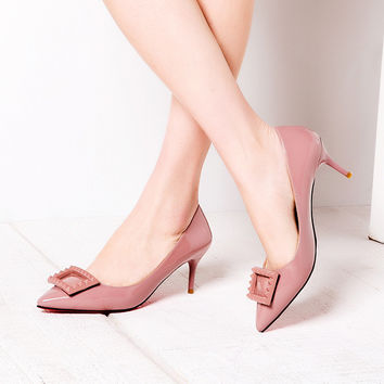 Summer High Heel Sexy Pointed Toe Shoes [4919959428]