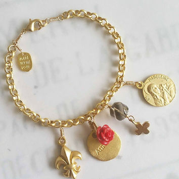 Mary of Magdala Charm Bracelet