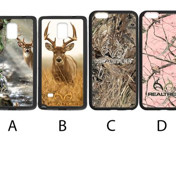 Realtree Camo Deer Phone Case For iPhone and Samsung Galaxy