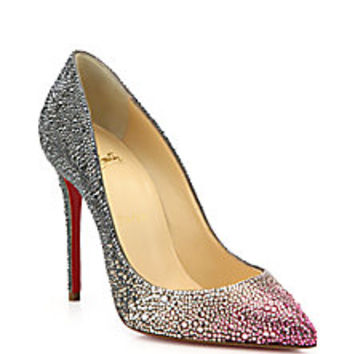 Christian Louboutin - Pigalle Ombré Crystal Pumps - Saks Fifth Avenue Mobile