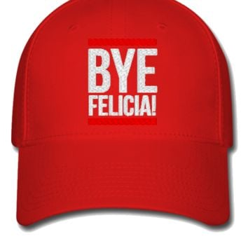 BYE FELICIA embroidery hat - Flexfit Baseball Cap