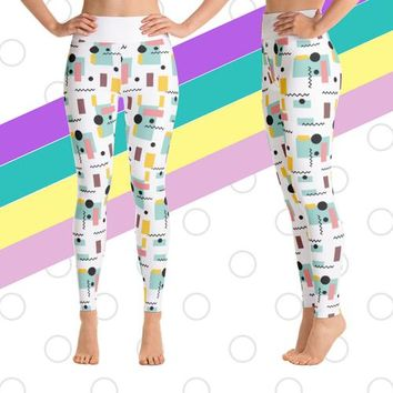 Retro Women's Yoga leggings
