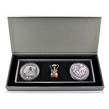 Israel's Lion of Judah Coin Collector's Set HolyLand Bottle