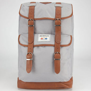 Benrus Scout Backpack Grey One Size For Men 22290911501