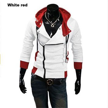 2016 assassins creed jacket Fashion Hoodies Men Casual Sportswear Male Hoody Long Sleeve Sweatshirt Jacket Plus Size 6XL w20