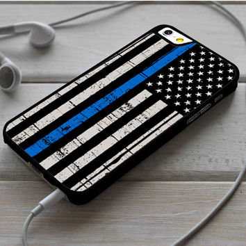 The Thin Blue Line USA Flag iPhone 6 | 6 Plus Case Dollarscase.com