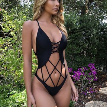 Buenos Aires Sexy Cut One Piece
