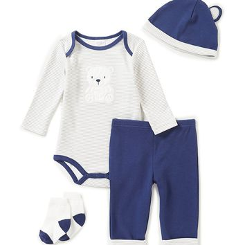 Starting Out Baby Boys Newborn-9 Months Polar Bear 4-Piece Layette Set | Dillards