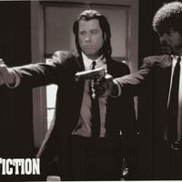 Pulp Fiction Vincent and Jules Poster 24x36