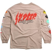 Prohibited Longsleeve T-Shirt Sand