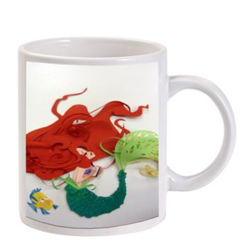 Gift Mugs | The Little Mermaid Art Ariel Princess Ceramic Coffee Mugs