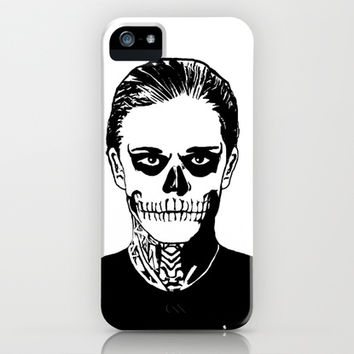 Tate - American Horror Story iPhone & iPod Case by Mark Cox
