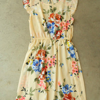 Floral All Over Dress [3828] - $36.00 : Vintage Inspired Clothing & Affordable Summer Frocks, deloom | Modern. Vintage. Crafted.