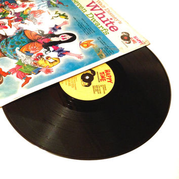 Rare Vinyl Record The Songs From Walt Disneys Snow White and the Seven Dwarfs LP Album Sixties