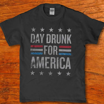 Day Drunk for America awesome Epic Men's t-shirt