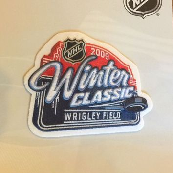 NHL Hockey Patch Winter Classics 2009 Detroit Red Wings Chicago Blackhawks