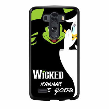 Mickey Mouse Wicked Hannah The Good LG G3 Case
