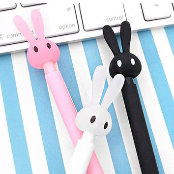 Cutie rabbit 0.5mm retractable sharp mechanical pencil