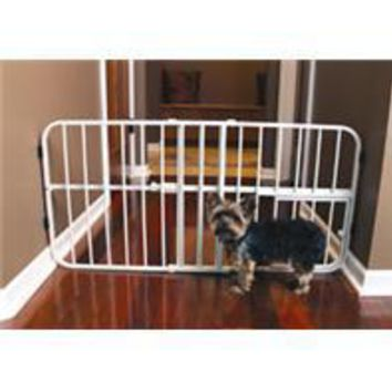Carlson Pet Products - Lil Tuffy Expandable Pet Gate With Door