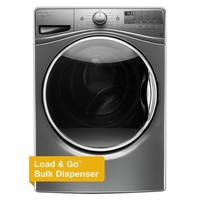 Whirlpool 4.5 cu. ft. High-Efficiency Front Load Washer with Steam in Chrome Shadow, ENERGY STAR-WFW92HEFC - The Home Depot