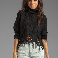 UNIF Hardy Sweater in Black from REVOLVEclothing.com