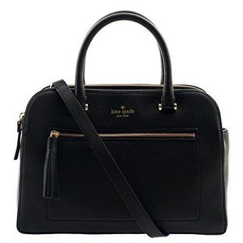 Kate Spade New York Kalen Chester Street Satchel Handbag (Black)