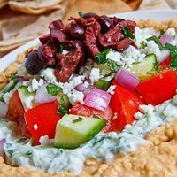 Time for a Party! / Greek 7 Layer Dip