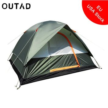 4 Person Double Layer Waterproof Dome Tent