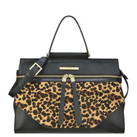 Nine West: Hewes Leather Satchel