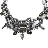 ModeWalk.com: Black Crystal Necklace by On Aura Tout Vu