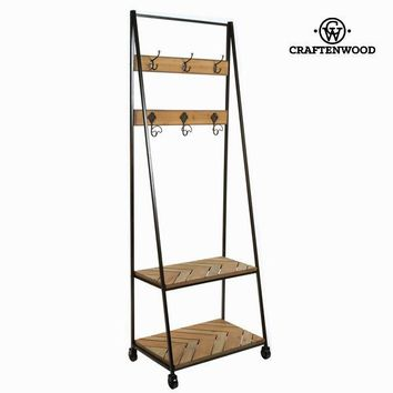 Shelf with coat stand by Craften Wood