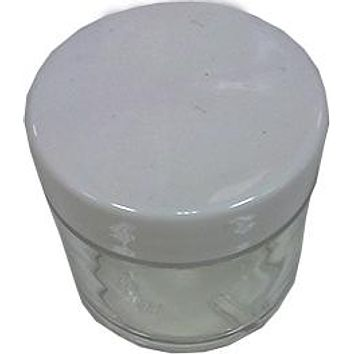 Ap Plastic Jar 1oz With Lid