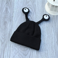 New Unisex Childrens Unique Cute Monster Eyeball Cartoon Beanie Hats