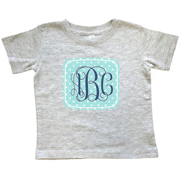 Monogram Tribal Circle - T Shirt