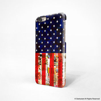 iPhone 6 case, iPhone 6 plus case, iPhone 5s case, iPhone 5C case, iPhone 4s case with American flag Hong Kong free shipping 538