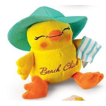 Charming Chicks Plush-Beach Chick