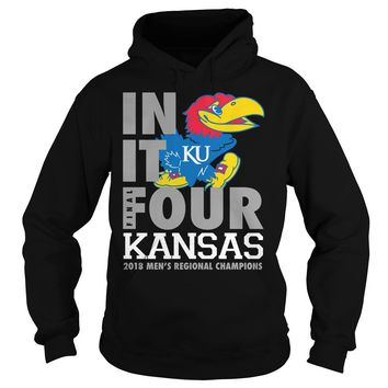 Kansas Jayhawks final four in it Ku shirt Hoodie