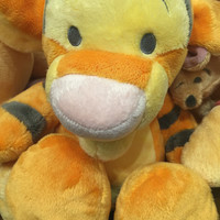 "disney parks floppy tigger & roo 15"" plush toy new with tags"