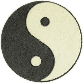 Yin Yang Glow-n-Dark Temporary Tattoo 2x2