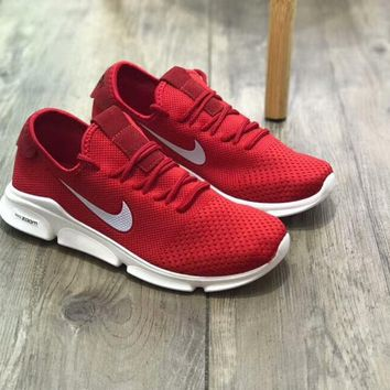 Nike Air Motion Flex 2018 Nike Knitted Flying Line Running Shoes