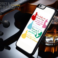 Disney Princesses Quotes Cover iPhone 6S Plus Case|iPhonefy