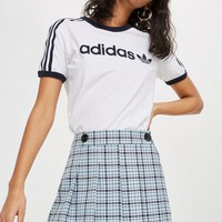 PETITE Summer Check A-Line Skirt